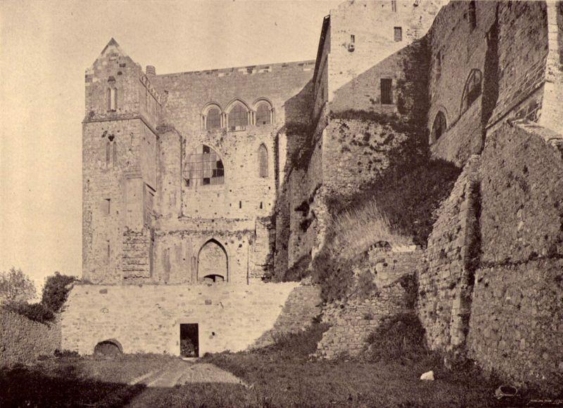 Restauration Mont Saint Michel Poulard